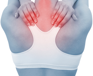 Woman - back pain